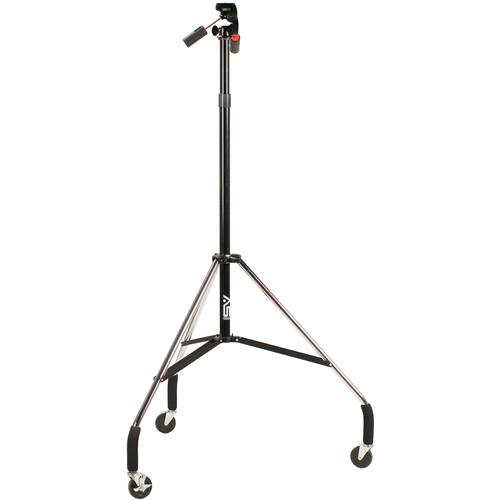 Smith-Victor Dollypod IVA Wheeled Tripod with 3-Way Head 700002
