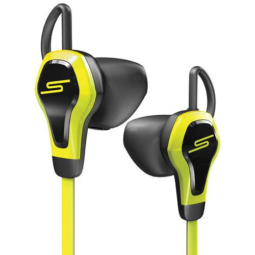 SMS Audio BioSport In-Ear Wired Ear Buds SMS-EB-BIOSPRT-YLW