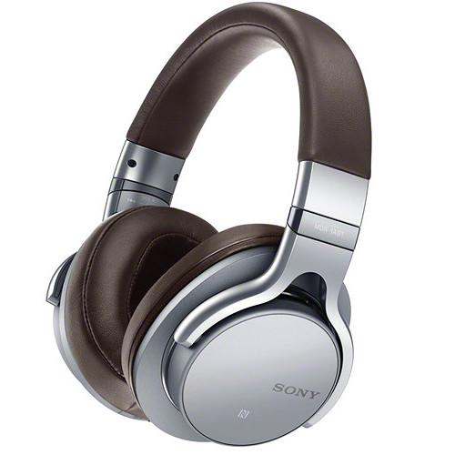 Sony Around-Ear Hi-Res Bluetooth Headphones (Silver) MDR1ABT/S