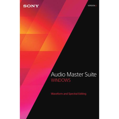 Sony Audio Master Suite 2 Upgrade - Waveform and SAMS2094ESD