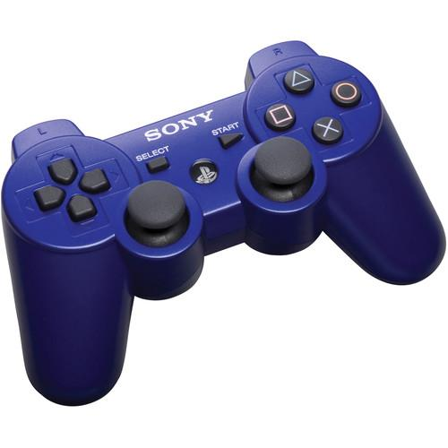 Sony DualShock 3 Wireless Controller (Metallic Blue) 99007
