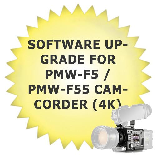 Sony Software Upgrade for PMW-F5 / PMW-F55 Camcorder CBK-Z55FX