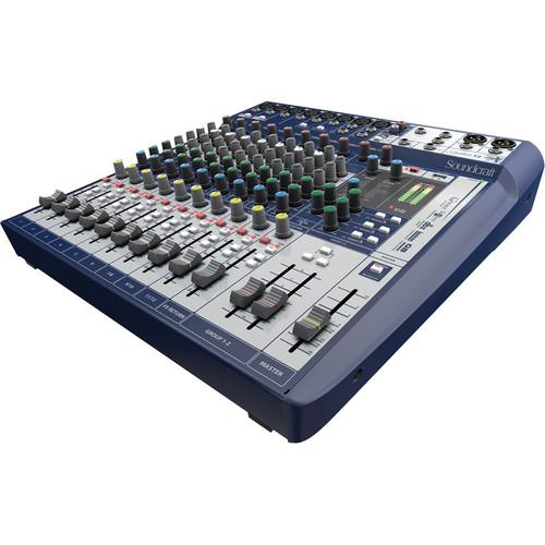 Soundcraft Signature 12 12-Input Mixer with Effects 5049555