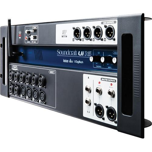 Soundcraft Ui16 16-Input Remote-Controlled Digital Mixer 5056219