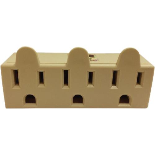 SPARK  3-Outlet Grounded Tap Adapter EL1854