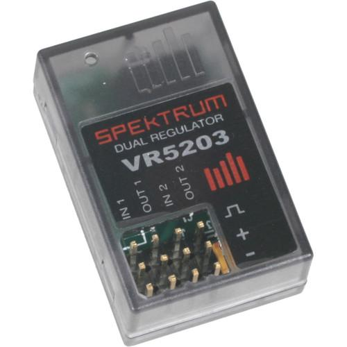 Spektrum  VR5203 Dual Output Regulator SPMVR5203