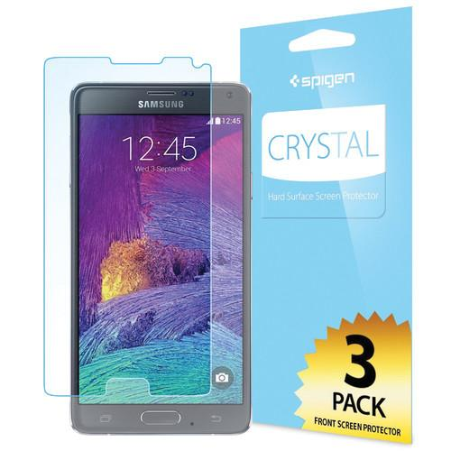 Spigen Crystal Screen Protector for Galaxy Note 4 SGP11105