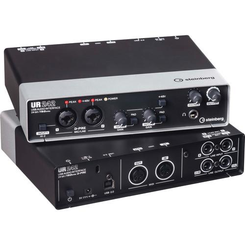 Steinberg UR242 - USB 2.0 Audio Interface with Dual UR242
