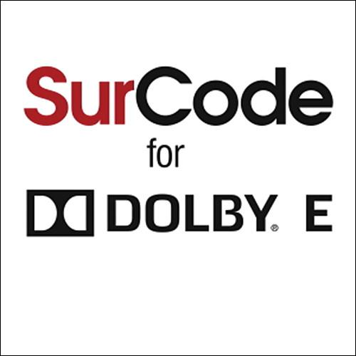 SurCode SurCode for Dolby E Master Suite 5 - Dolby E SEMI5