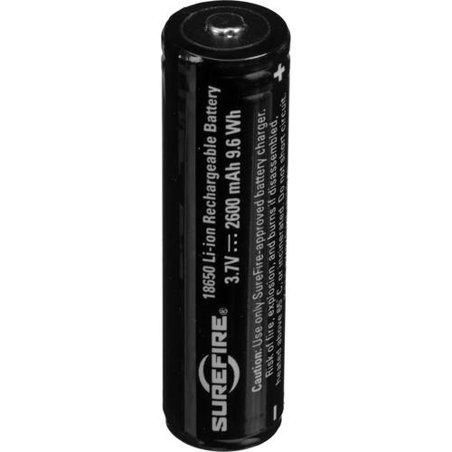 SureFire 18650 Protected Li-Ion Rechargeable Battery SF18650