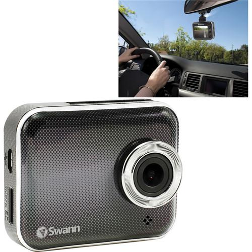 Swann Smart HD Dash Camera with Wi-Fi SWADS-150DCM-US