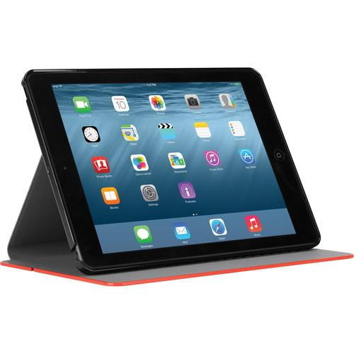 Targus Hard Cover for iPad Air 2 (Black with Red Edge) THZ520US