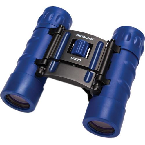 Tasco 10x25 Essentials Compact Binocular (Blue) 168RBB