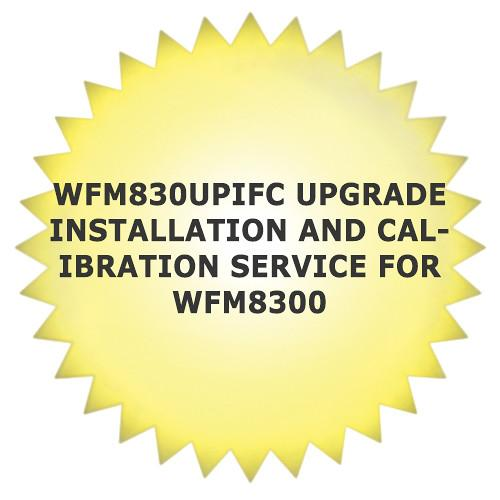 Tektronix WFM830UPIFC Service Installation and WFM830UPIFC