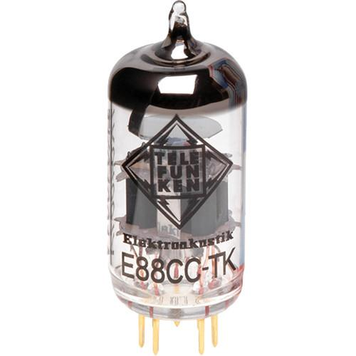 Telefunken E88CC-TK Black Diamond Series Preamp Tube E88CC-TK