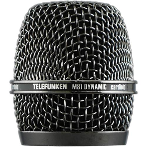 Telefunken HD03 Replacement Head Grille for M81 HD03-BKNK