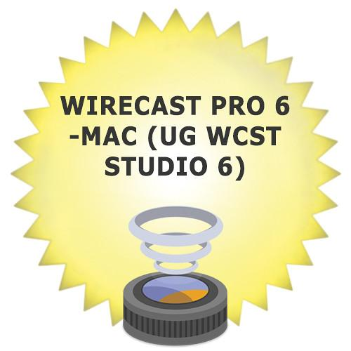 Telestream Wirecast Pro 6 Upgrade from WC6PRO-M-UPG6-STU