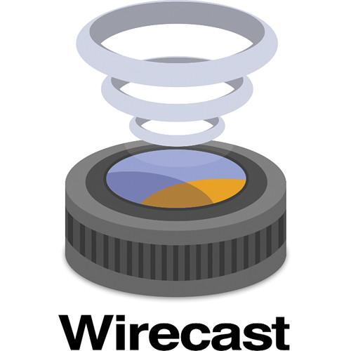 Telestream Wirecast Studio 6 for Mac (Download) WC6STU-M