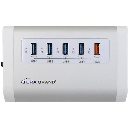 Tera Grand 4-Port USB 3.0 Hub with Charging Port USB3-4PHUB-WCP