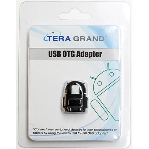 Tera Grand Micro-USB to USB On-The-Go Adapter OTG-TE181-BK