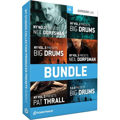 Toontrack N.Y. Studios Collection Producer Presets TT054SN