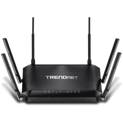 TRENDnet AC3200 Tri Band Wireless Router TEW-828DRU