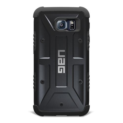 UAG Composite Case for Galaxy S6 (Scout) UAG-GLXS6-BLK-W/SCRN-VP