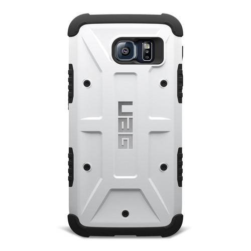 UAG Composite Case for Galaxy S6 UAG-GLXS6-WHT-W/SCRN-VP