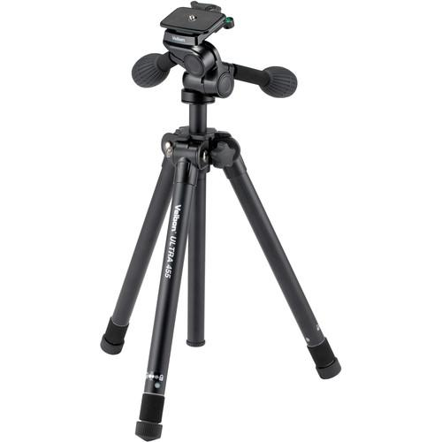 Velbon Ultra 455 Aluminum Tripod with PH-G40D Pan/Tilt ULTRA 455
