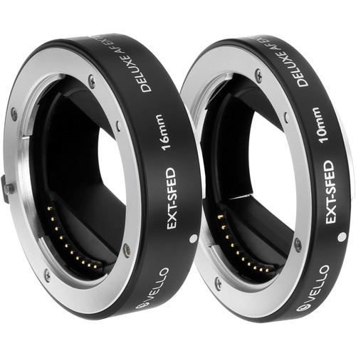 Vello EXT-SFED Deluxe Auto Focus Extension Tube Set EXT-SFED