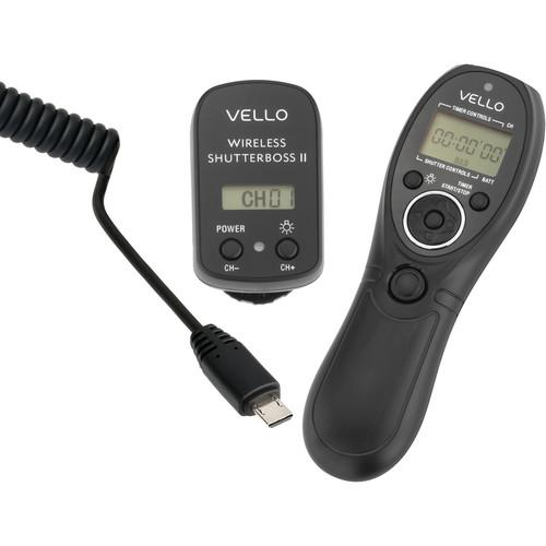 Vello Vello Wireless ShutterBoss II Remote Switch RCW-II-S1K
