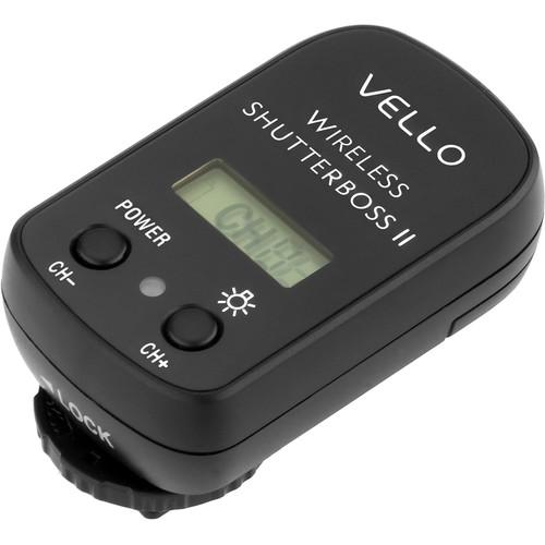Vello  Wireless ShutterBoss II Receiver RCW-R