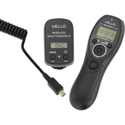 Vello Wireless ShutterBoss II Remote Switch RCW-II-O3