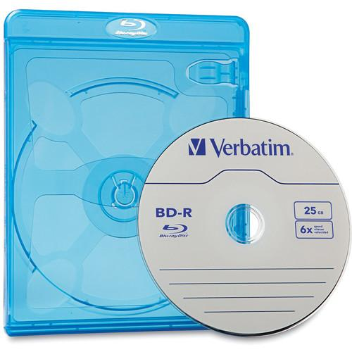 Verbatim  Blu-ray DVD Cases (30-Pack) 98603