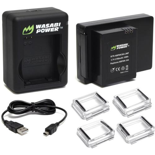 Wasabi Power Extended Battery for GoPro BCH-ABPAK304-DC-AHBBP301