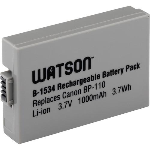Watson Watson BP-110 Lithium-Ion Battery (3.7V, 1000mAh) B-1534