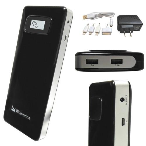Wolverine Data Colossal 18,200mAh Dual USB Travel COL18200