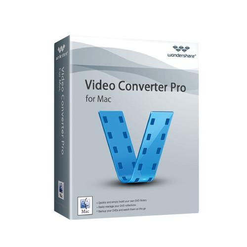 Wondershare Video Converter Pro 4 for Mac (Download) 20130619