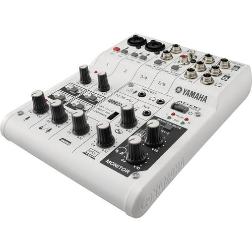 Yamaha AG06 6-Channel Mixer & USB Audio Interface AG06