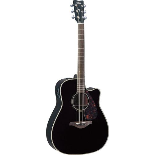 Yamaha FGX720SCA Acoustic/Electric Solid-Top FGX720SCA BL