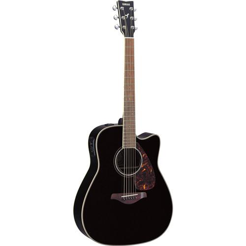 Yamaha FGX730SC Acoustic/Electric Solid-Top Cutaway FGX730SC BL