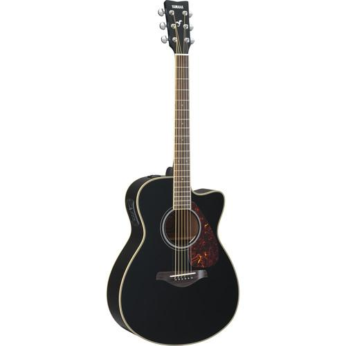 Yamaha FSX720SC Acoustic/Electric Solid-Top Cutaway FSX720SC BL