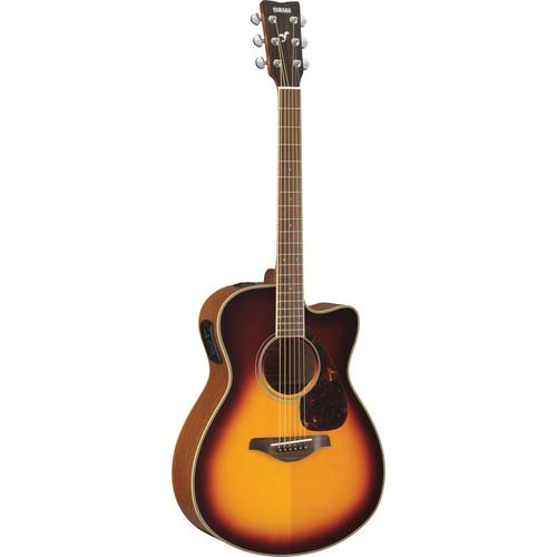 Yamaha FSX720SC Acoustic/Electric Solid-Top Cutaway FSX720SC BS