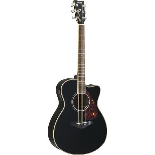 Yamaha FSX730SC Acoustic/Electric Solid-Top Cutaway FSX730SC BL