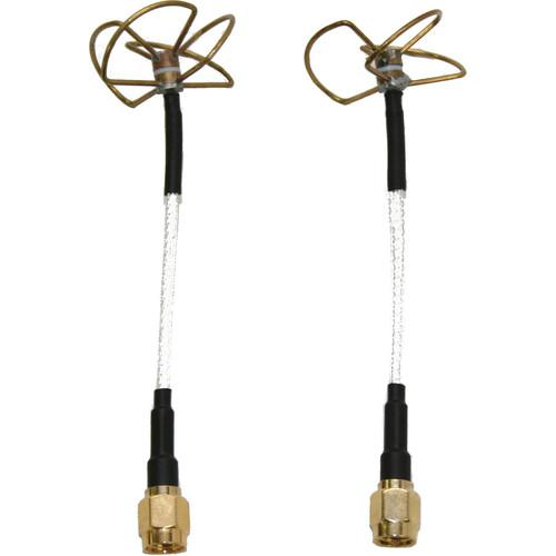 3DR Clover Leaf Antenna Kit (Straight, Pair) WLS-KIT-0005