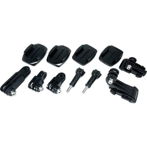 ACTIVEON Bag of Mounts for ACTIVEON Action Cameras AM07A