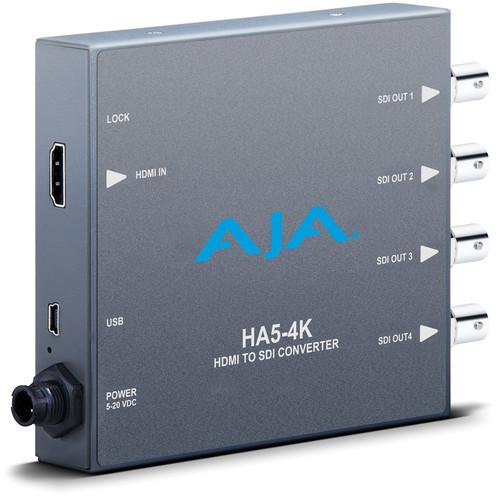 AJA HA5-4K 4K HDMI to 4K SDI Mini-Converter HA5-4K