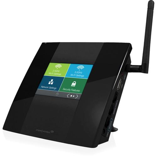 Amped Wireless TAP-R2 Touch Screen AC750 Wi-Fi Router TAP-R2