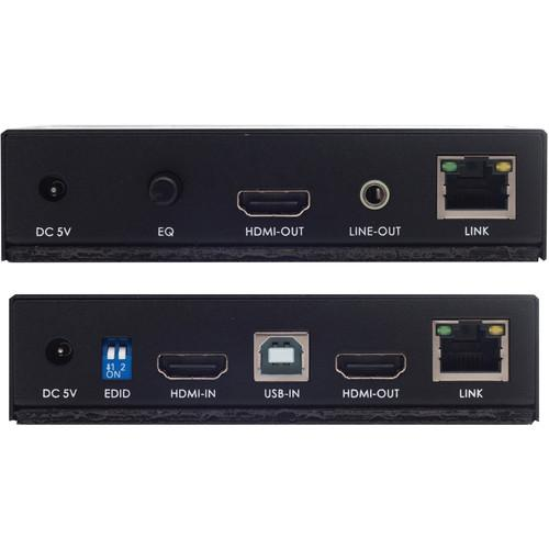 Apantac Single Port DVI-D/USB over CATx KVM-1-ED KVM-SET-10