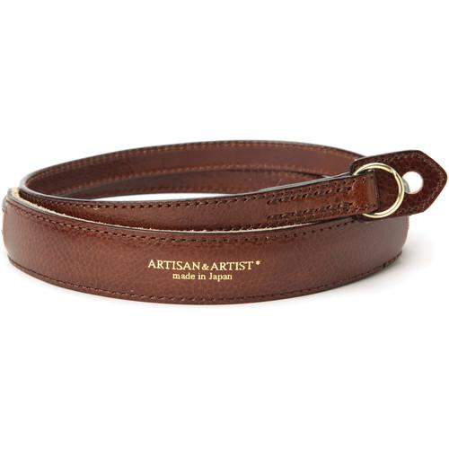 Artisan & Artist ACAM-255 Leather Camera Strap AAACAM255BRN